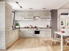 Jaka podłoga do białej kuchni
